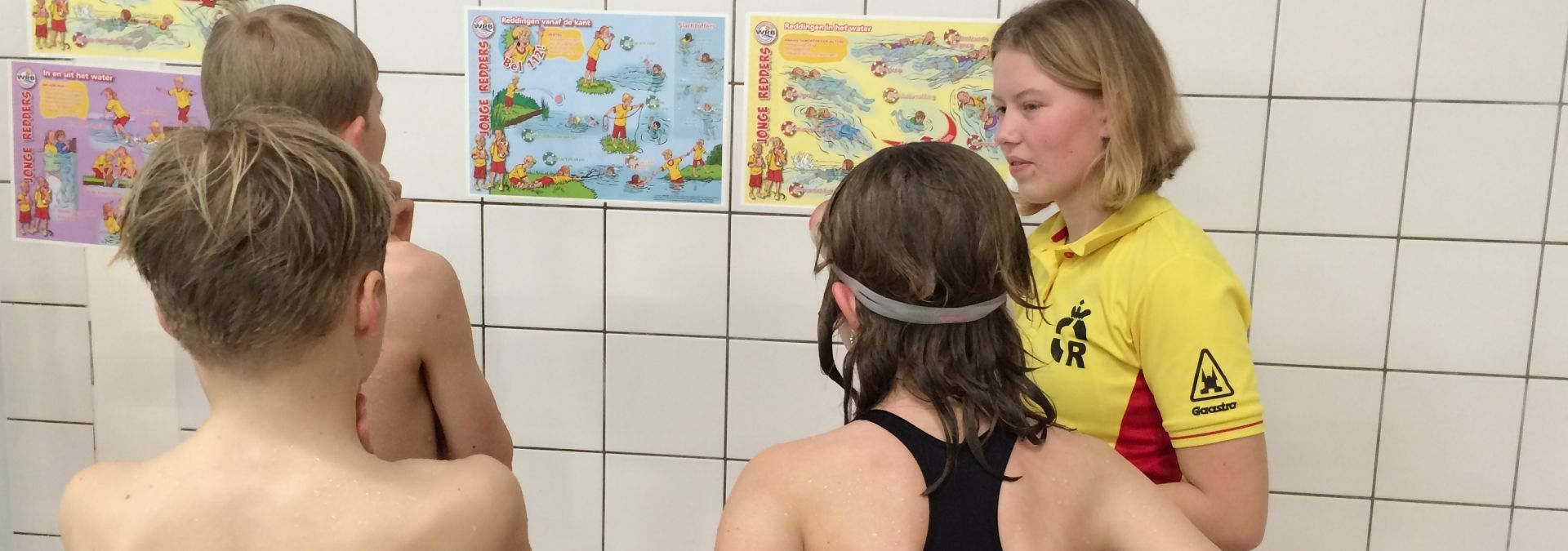 Dutch Lifeguards opleiding leskaarten Jonge Redders