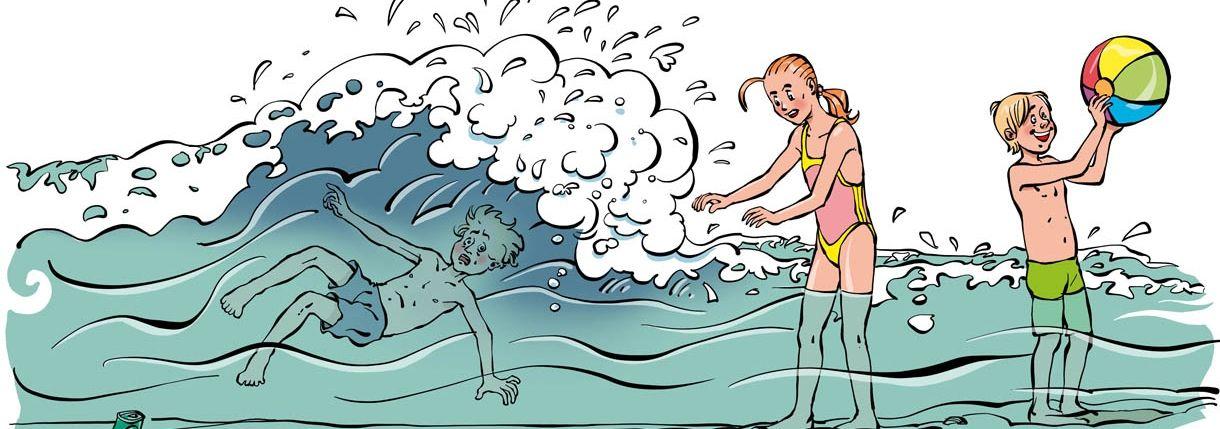 Dutch Lifeguards waterveilig instructie