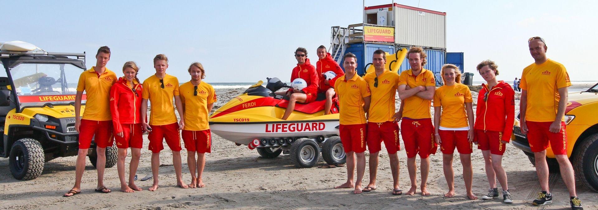 KNRM Lifeguard mooie vakantiebaan waddeneilanden | Foto: Nicolaas Kerkmeijer
