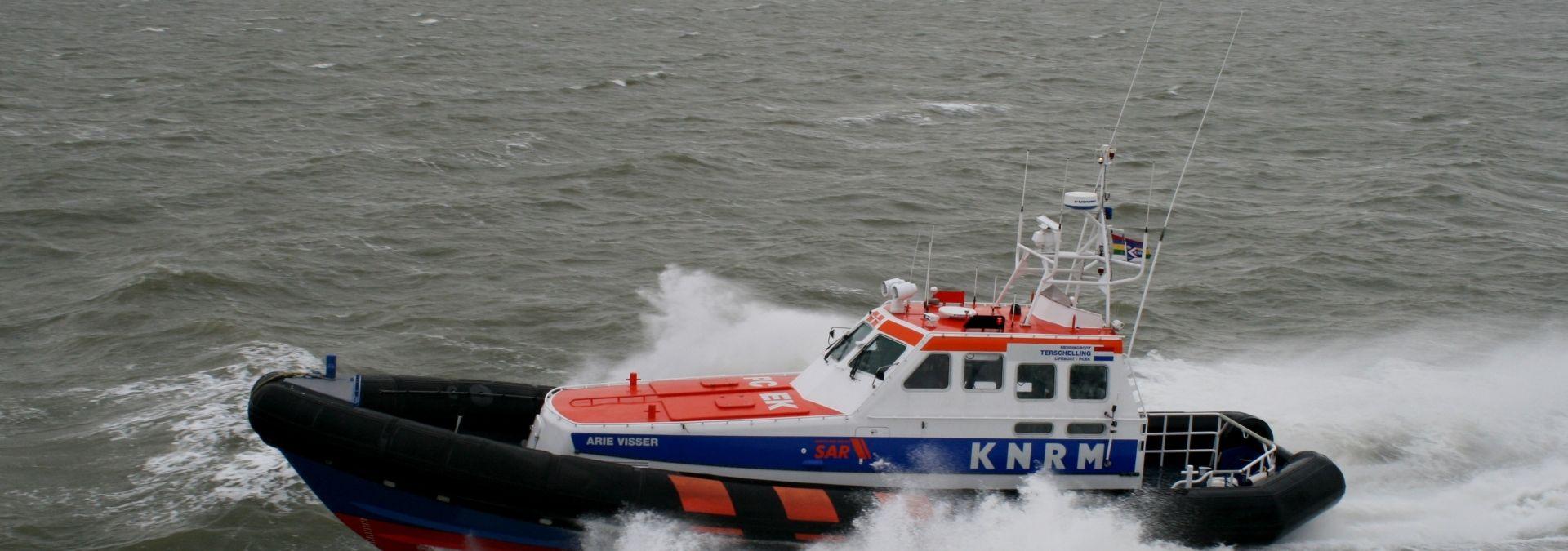 Reddingboot Arie Visser