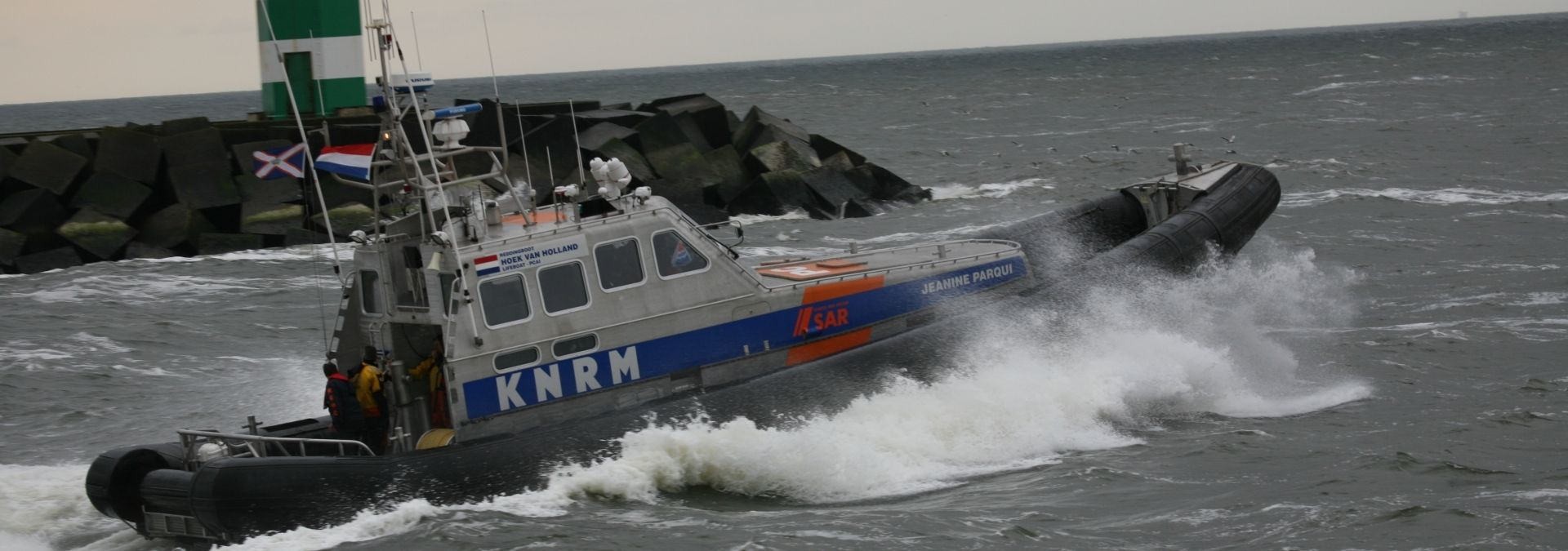 Reddingboot Jeanine Parqui