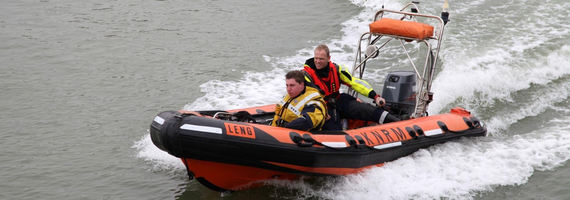 Reddingboot Leng - Foto Harry van Tiel