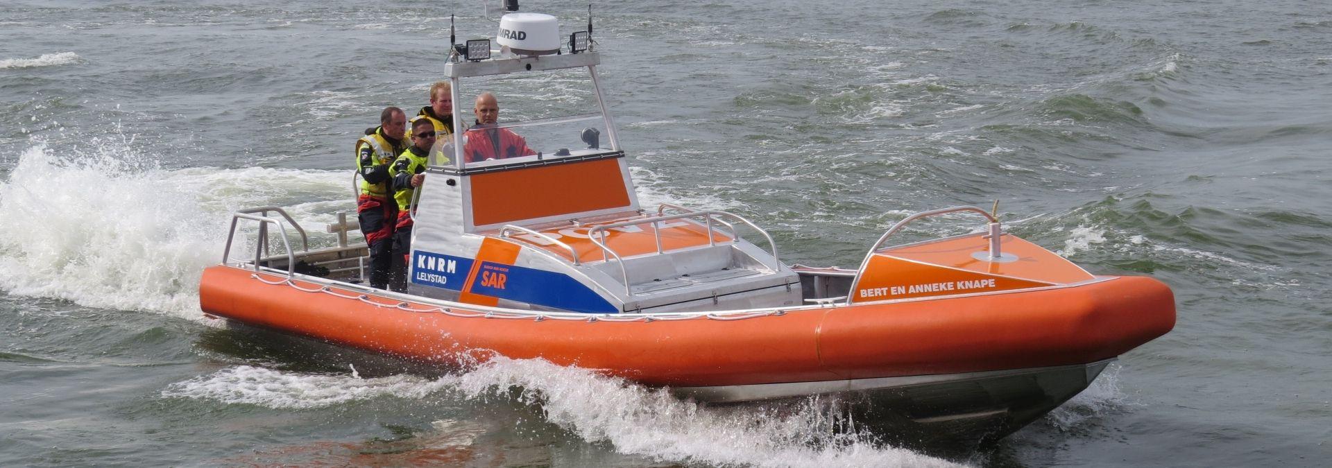 Reddingboot Bert en Anneke Knape