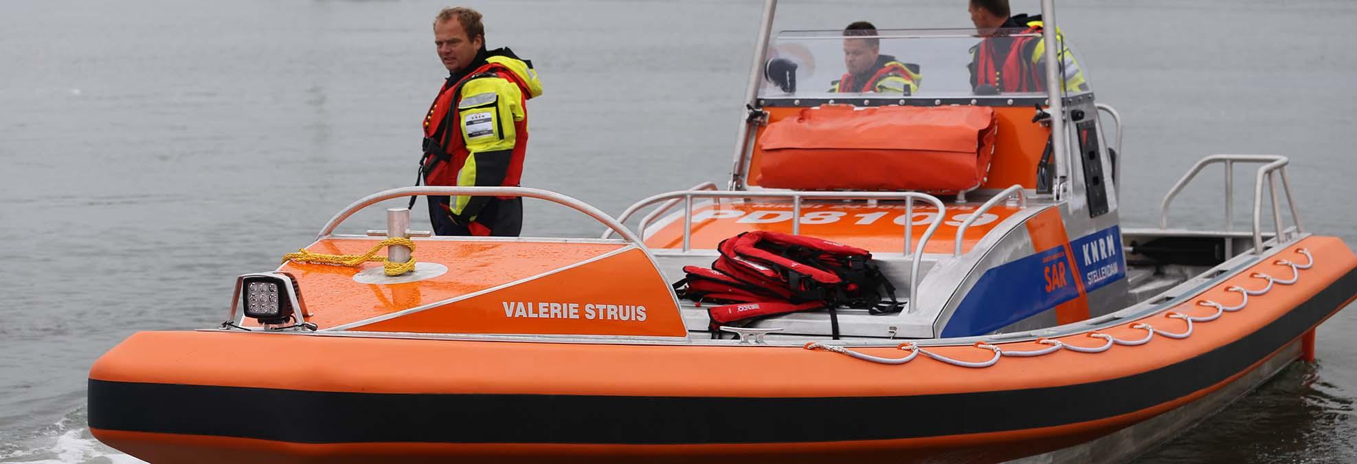 Reddingboot Valerie Struis