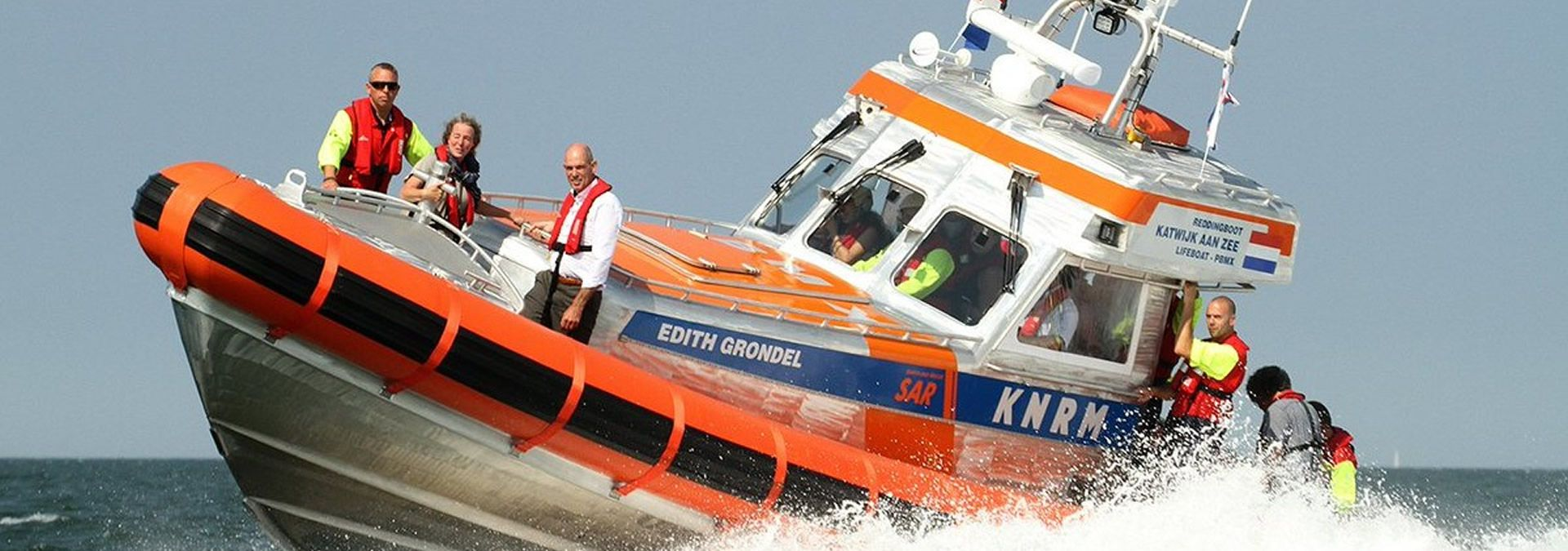 Reddingboot Edith Grondel - Foto A. van Dijk
