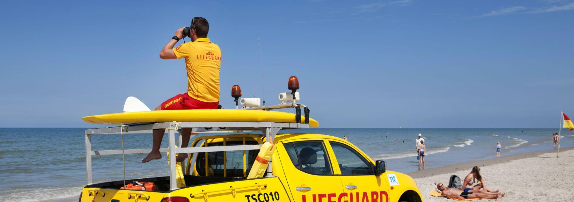 Lifeguard Terschelling | Fotograaf Olaf Kraak