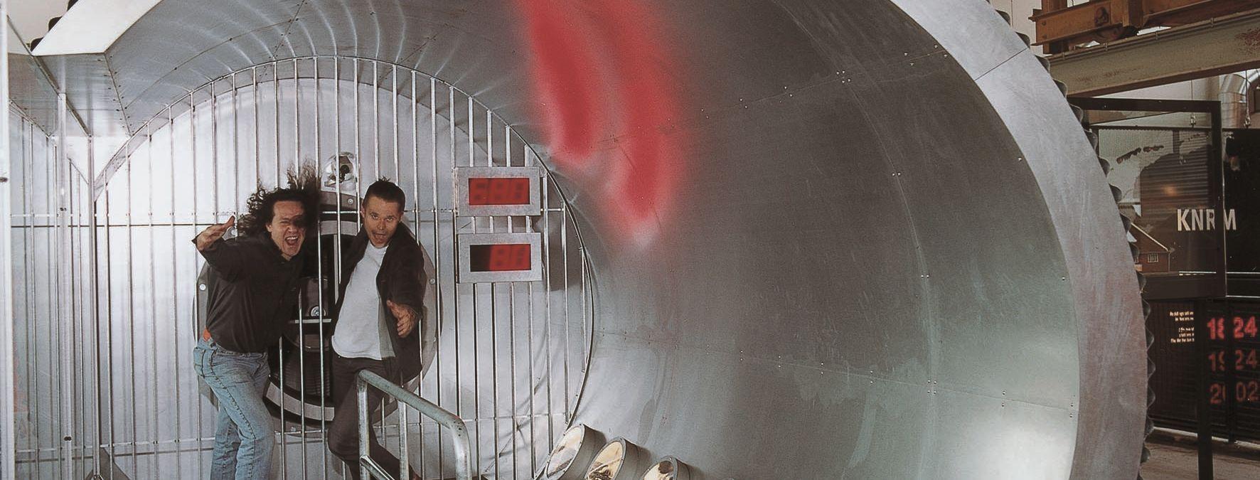 Windtunnel reddingmuseum Den Helder