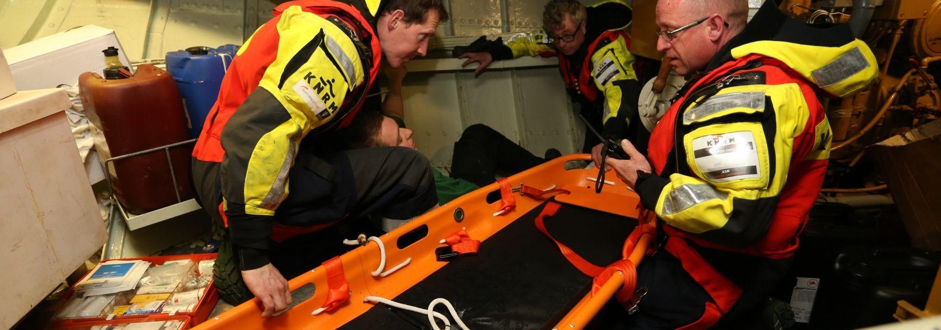 Oefening reddingstation Neeltje Jans