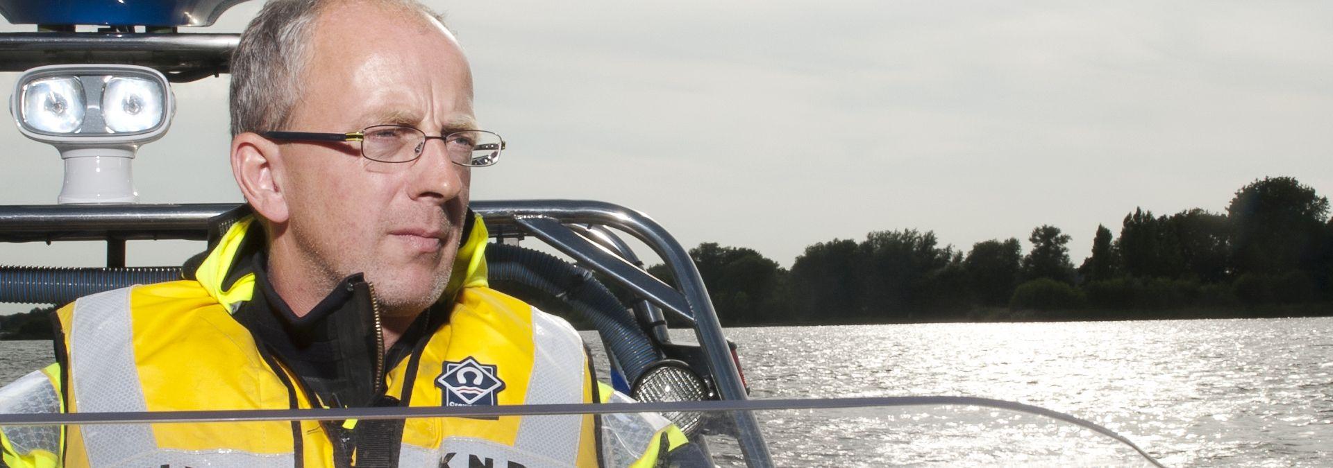 Vrijwilliger Jan Balk