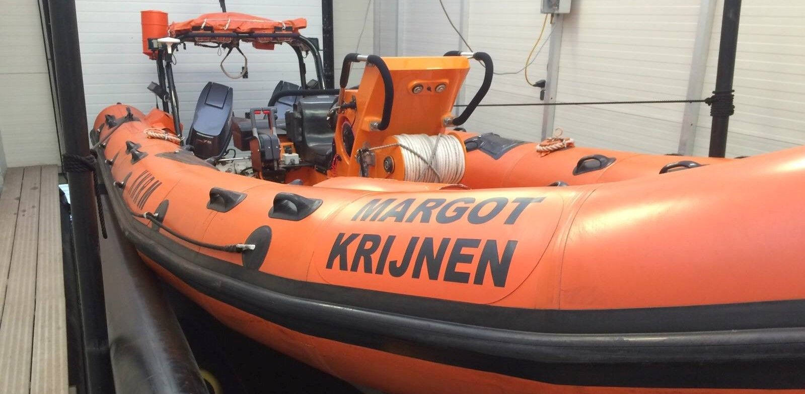 Reddingboot Margot Krijnen